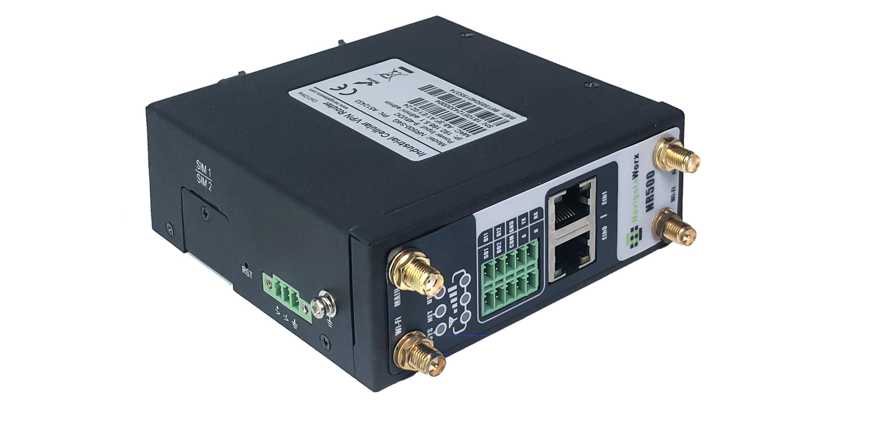 NR500 Standard industriële 4G router