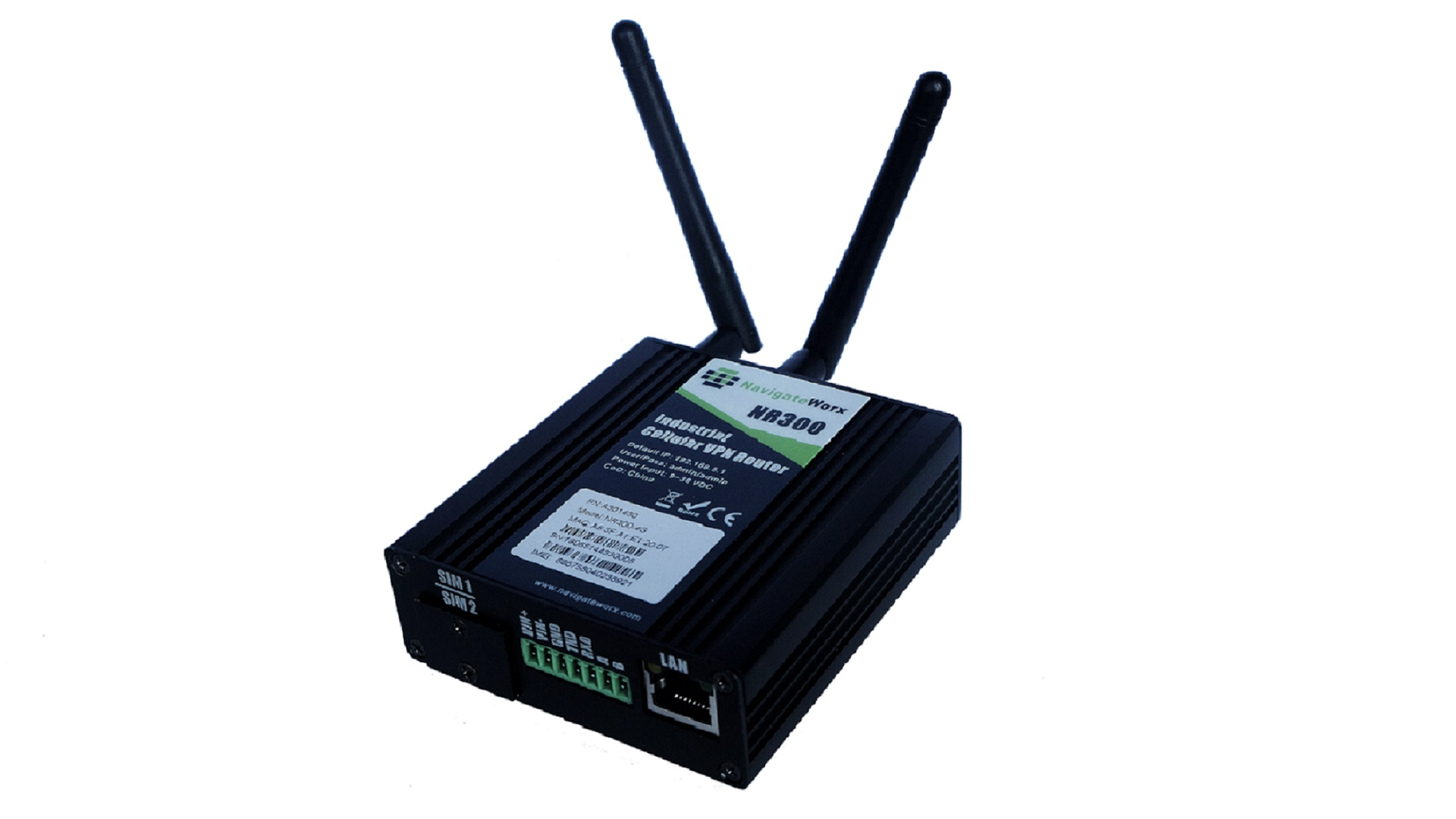 NR300 industriële 4G router